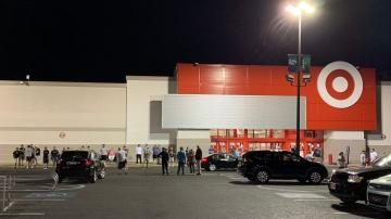 Philadelphia residents stand guard to protect local Target store from looters