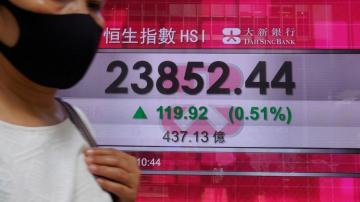 Asian shares gain on hopes for regional economies reopening