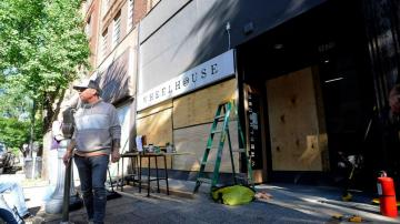 Looting devastates businesses already shaken by virus
