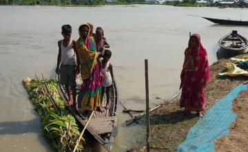Assam Flood Situation Improves But 7 Lakh People Still Affected