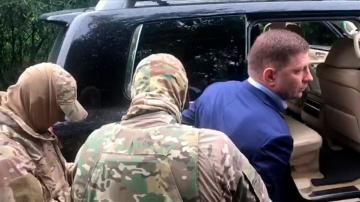 Regional governor in Russia arrested on murder charges