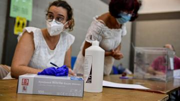 Spain holds 2 regional elections amid small virus outbreaks