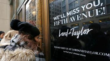 Retail rout goes on, Lord & Taylor, Tailored Brands, falter