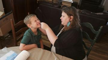US kids, parents perform DIY tests for coronavirus science