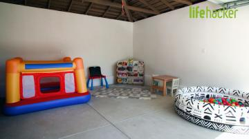 How to Turn Your Garage into a Playroom