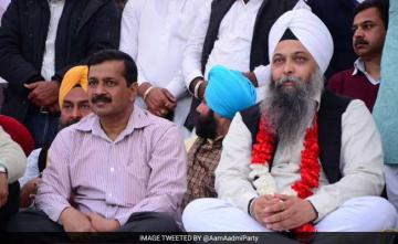 AAP Leader Jarnail Singh Suspended For Objectionable Post Against Hindu Gods