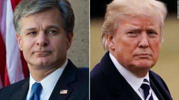The President rails against Christopher Wray and issues a warning to Attorney General Barr to pressure the investigation of the Russia probe