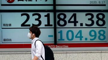 Japan stocks fall after economy contracts, other markets up