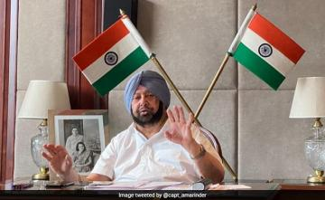 """AAP Indulging In Petty Politics Over COVID-19"": Amarinder Singh"