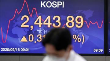 Asian shares mostly higher after Wall Street gains