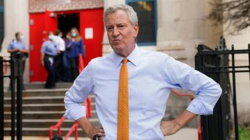 NYC mayor 'very confident' in new school reopening timeline
