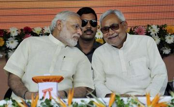 """Sushashan"": PM Modi's Thumbs Up For Mr Good Governance Nitish Kumar"