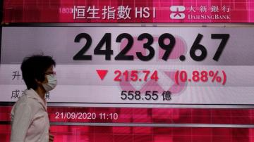 Asian shares track Wall Street retreat on pandemic pains