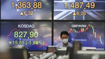 Asian shares fall as caution sets in after Wall St retreat