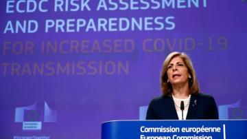 EU warns of slim window to avoid repeat of prior virus peak