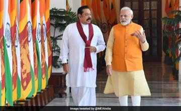 PM Modi Holds Bilateral Talks With Sri Lankan PM Mahinda Rajapaksa