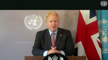 Boris Johnson urges world leaders to unite against COVID-19