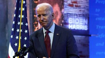 Biden urges Senate GOP to delay Supreme Court confirmation hearings