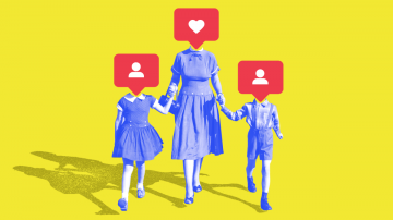 Do You Let Your Kids Follow You on Social Media?