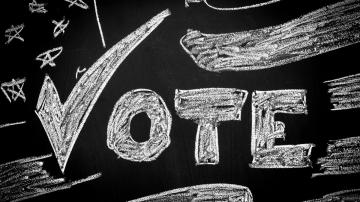 'Chalk the Vote' With Your Kids This Weekend