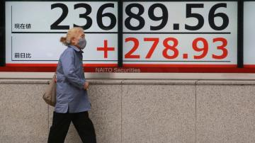 Asian shares lifted by stronger China growth numbers