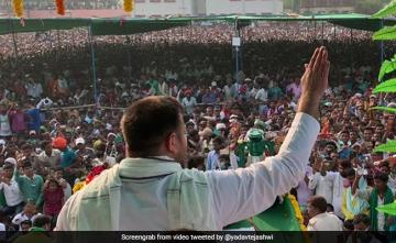 Huge Crowds At Tejashwi Yadav's Rallies, Party Points To Migrant Anger