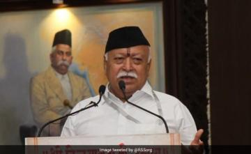 "As RSS Chief Mohan Bhagwat Attacks China, Rahul Gandhi's ""Truth"" Dig"
