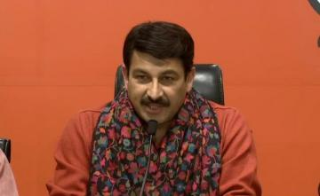 Providing Free Vaccine State Matter: Manoj Tiwari Slams Uddhav Thackeray