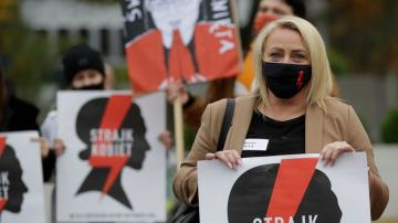 Poles join nationwide strike in revolt over abortion ruling