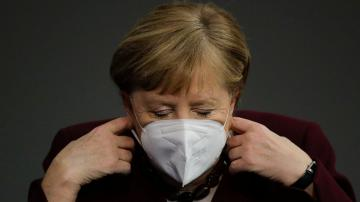 Merkel urges patience as German virus restrictions extended