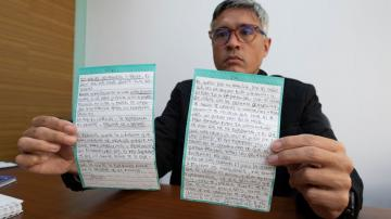 AP Exclusive: Letter from Venezuelan jail: 'Give me freedom'