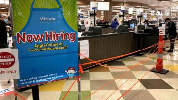 Unemployment rate dips to 6.7% as employers add 245,000 jobs last month