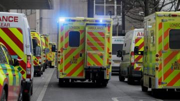 The Latest: UK hospitals in crisis; vaccinations ramp up