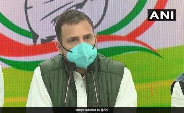 PM Lacks Understanding Of Fundamentals: Rahul Gandhi