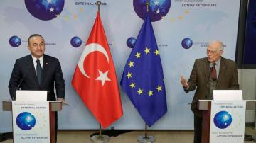 Turkey launches charm offensive to ease tensions with EU