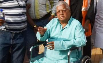 Lalu Yadav Likely To Be Shifted To Delhi AIIMS As Health Worsens