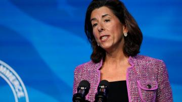 Biden's Commerce pick, Raimondo, voices tough line on China