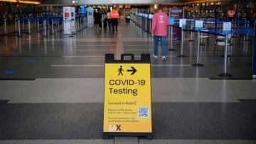 US 'actively looking' at requiring COVID testing before domestic flights