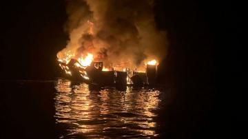 Captain pleads not guilty to manslaughter in boat fire