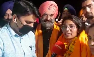 """Will Go To Singhu, Sit With Farmers"": Activist Nodeep Kaur Out Of Jail"