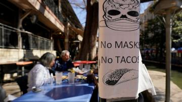 Texas schools, stores divided on masks as mandate ends