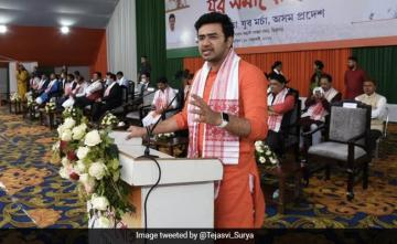 """200 Plus Seats In Bengal, BJP Chief Minister On May 3"": Tejasvi Surya"