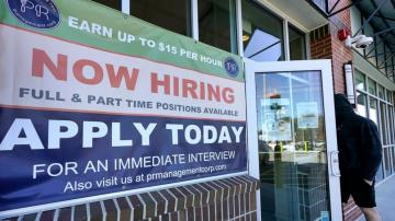 Jump in hiring fuels optimism for US economic recovery
