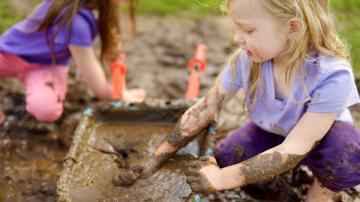Create a Backyard 'Mud Kitchen' for Your Kids This Spring