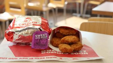 Get Free Chicken Nuggets at Wendy's This Week