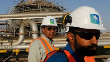 Oil giant Saudi Aramco sees 2020 profits drop to $49 billion