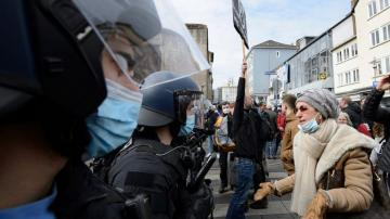 German government welcomes probe into virus protest policing