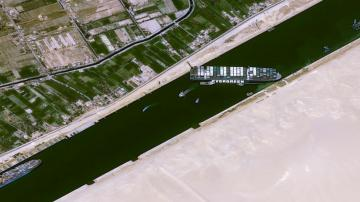 EXPLAINER: Suez Canal block could hit product supply chains