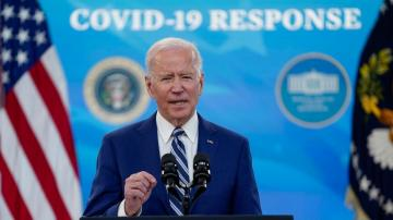 Biden, CDC director warn of virus rebound if nation lets up