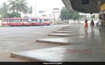 Bus Employees' Strike In Karnataka Enters Third Day, Services Hit